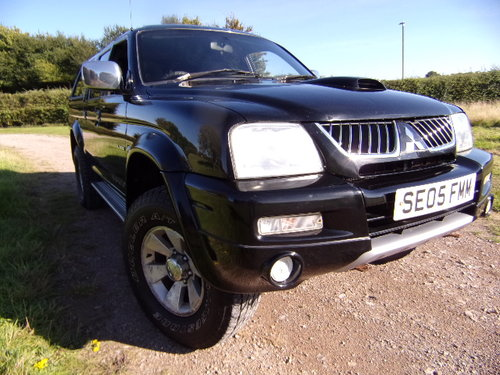 2005 Mitsubishi L200 Warrior LWB For Sale (picture 1 of 6)