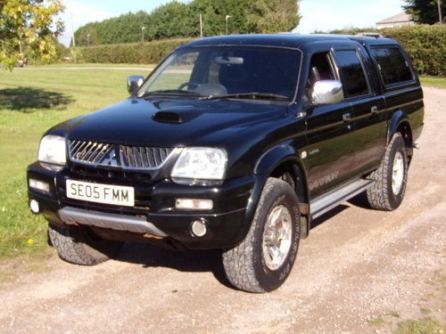 2005 Mitsubishi L200 Warrior LWB For Sale (picture 3 of 6)