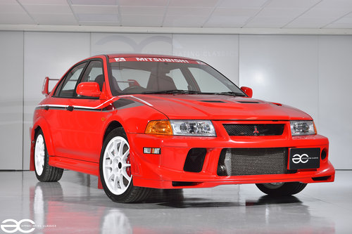 2000 Stunning Lancer Evolution Tommi Makinen Evo 6 - 27K Miles! SOLD (picture 2 of 6)