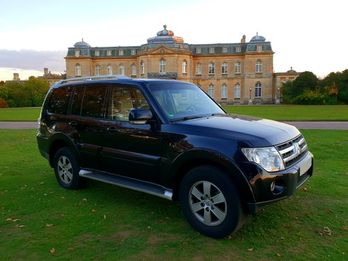 2008 LHD, MITSUBISHI PAJERO 3.2, Dies, LEFT HAND DRIVE For Sale (picture 1 of 6)