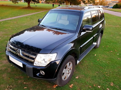 2008 LHD, MITSUBISHI PAJERO 3.2, Dies, LEFT HAND DRIVE For Sale (picture 2 of 6)