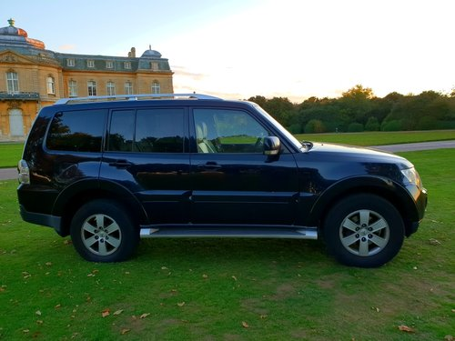 2008 LHD, MITSUBISHI PAJERO 3.2, Dies, LEFT HAND DRIVE For Sale (picture 3 of 6)