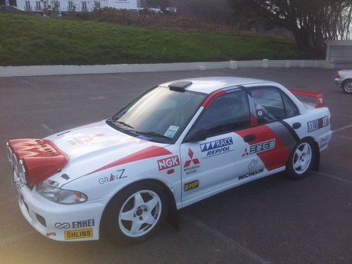 1992 Mitsubushi Evolution 1 - Rally Car For Sale (picture 1 of 6)