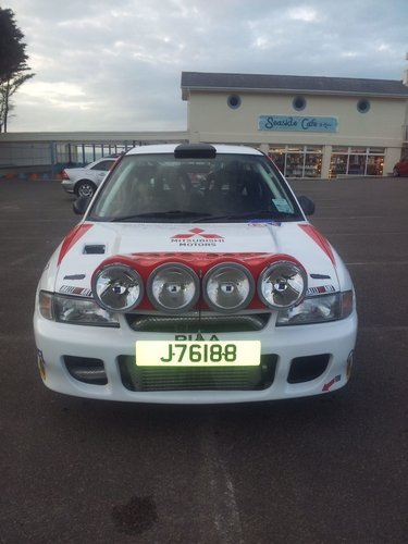 1992 Mitsubushi Evolution 1 - Rally Car For Sale (picture 4 of 6)