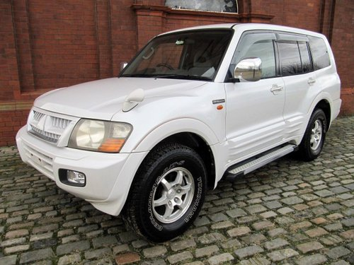 2002 MITSUBISHI PAJERO RARE 20TH ANNIVERSARY EDITION 4X4 LWB For Sale (picture 1 of 6)
