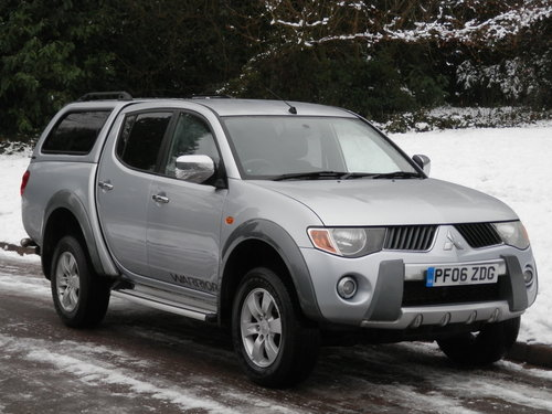 2006 Mitsubishi L200 Warrior Double Cab Pickup. Bargain.. NO VAT. SOLD (picture 1 of 6)