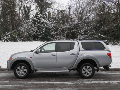 2006 Mitsubishi L200 Warrior Double Cab Pickup. Bargain.. NO VAT. SOLD (picture 2 of 6)