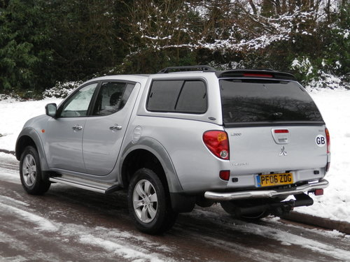 2006 Mitsubishi L200 Warrior Double Cab Pickup. Bargain.. NO VAT. SOLD (picture 6 of 6)