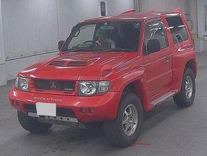 1997 MITSUBISHI PAJERO EVOLUTION IN PASSION RED RARE SHOGUN 4X4 *
