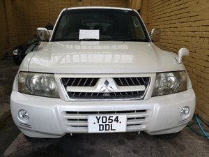 2005 MITSUBISH PAJERO 7SEATER WHITE For Sale
