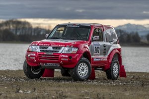 2002 - Mitsubishi Pajero MPR9 SOLD by Auction