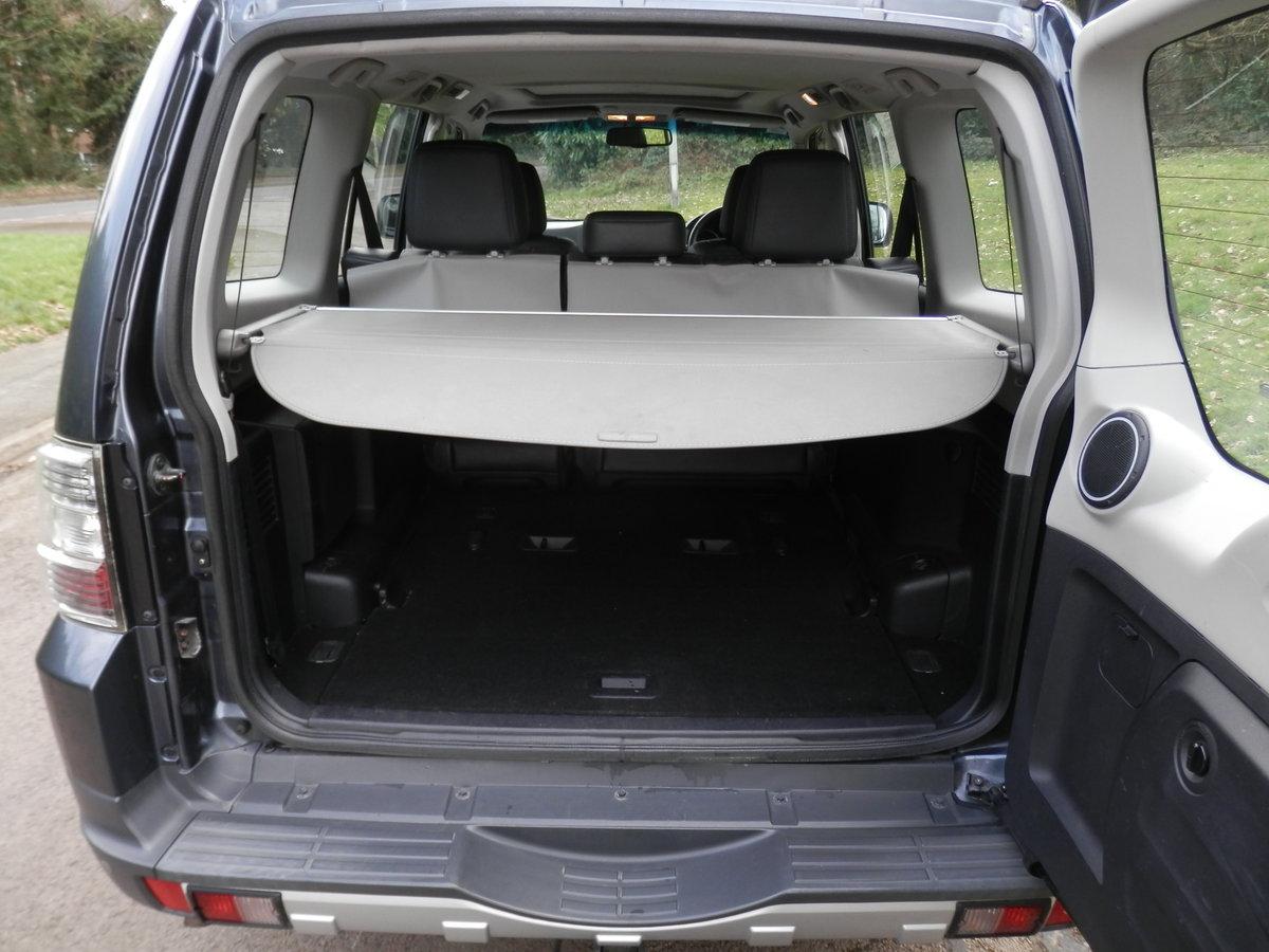 2008 Mitsubishi Shogun Elegance 3.2 Di-D. Auto. 1 Owner. Hi Spec. SOLD (picture 5 of 6)