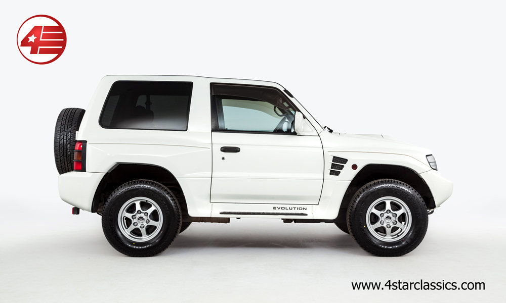 1997 Mitsubishi Pajero Evolution // Freshly Serviced // 54k Miles For Sale (picture 2 of 6)