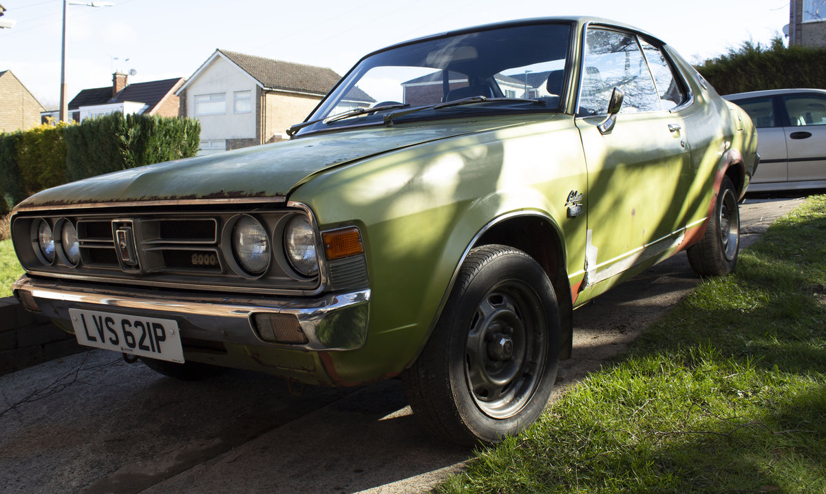 Colt Galant 1975 only one UK registered left For Sale (picture 1 of 6)