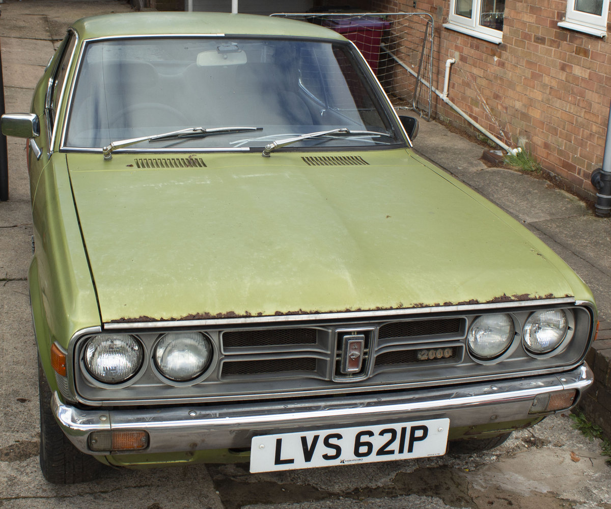 Colt Galant 1975 only one UK registered left For Sale (picture 2 of 6)