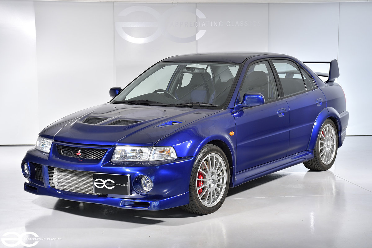 2000 Original & Stunning Mitsubishi Evolution VI - 7K Miles SOLD (picture 2 of 6)