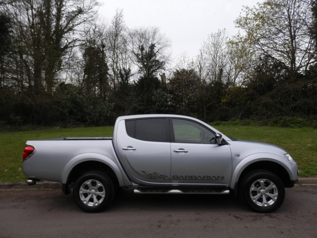 MITSUBISHI L200 BARBARIAN EDITION AUTO.. DOUBLE CAB.. NO VAT SOLD (picture 4 of 4)