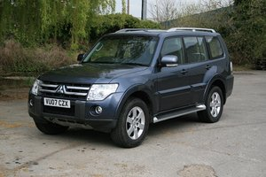 2007 Mitsubishi Shogun Elegance For Sale