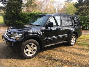 2005 Mitsubishi Shogun Warrior Di-d automatic SOLD