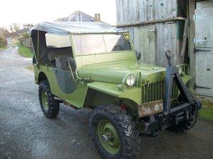 1975 jeep willys MA replica