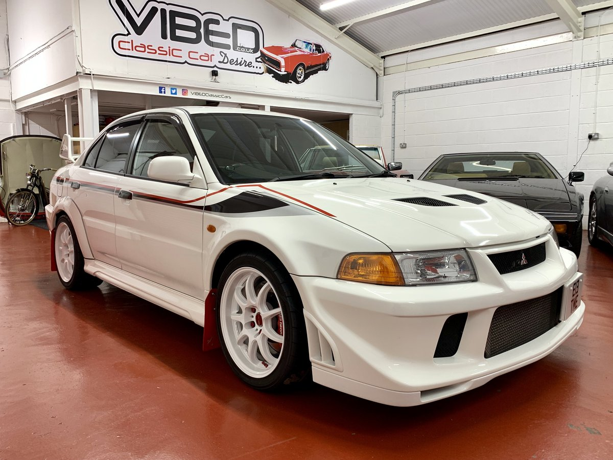 2000 Mitsubishi Evo 6 Tommi Makinen // 55k Miles // 2 UK Owners For Sale (picture 1 of 6)