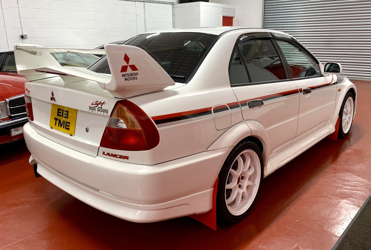 2000 Mitsubishi Evo 6 Tommi Makinen // 55k Miles // 2 UK Owners For Sale (picture 2 of 6)