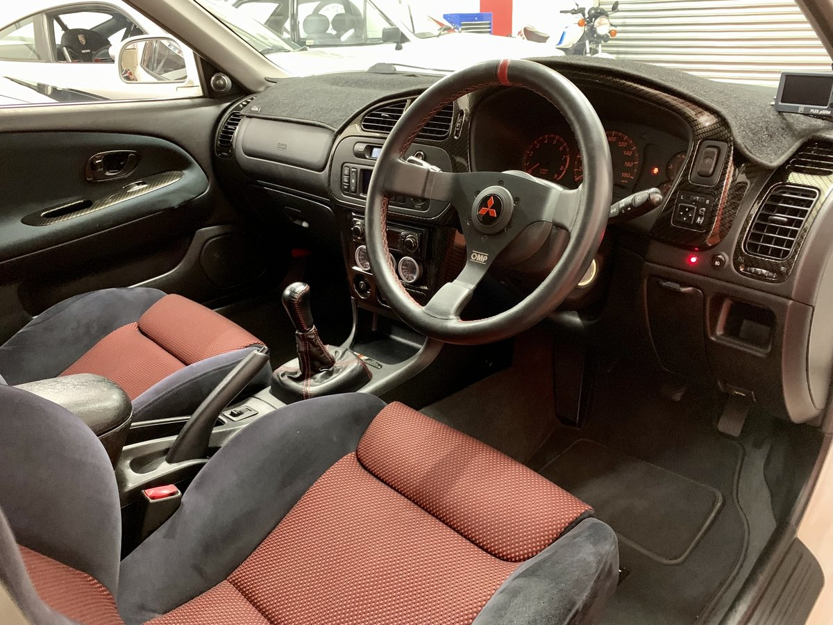 2000 Mitsubishi Evo 6 Tommi Makinen // 55k Miles // 2 UK Owners For Sale (picture 3 of 6)