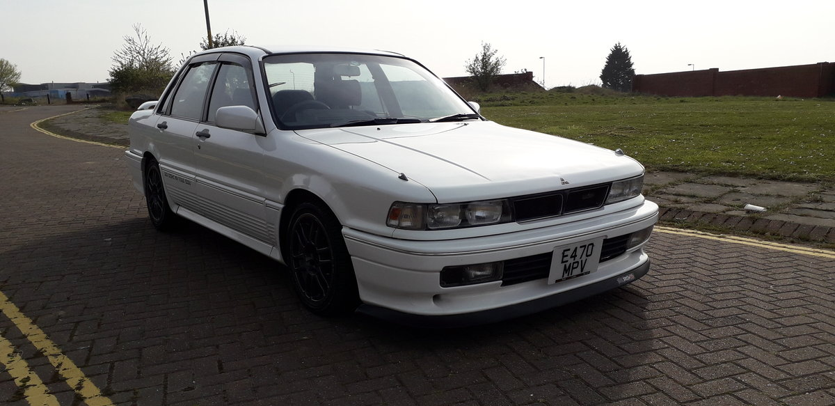 1988 SOLD - MITSUBISHI GALANT VR4 E39A - 4WD 2 LITRE TURBO   SOLD (picture 2 of 6)