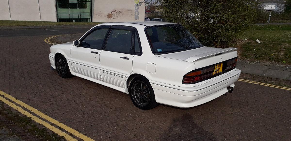 1988 SOLD - MITSUBISHI GALANT VR4 E39A - 4WD 2 LITRE TURBO   SOLD (picture 4 of 6)