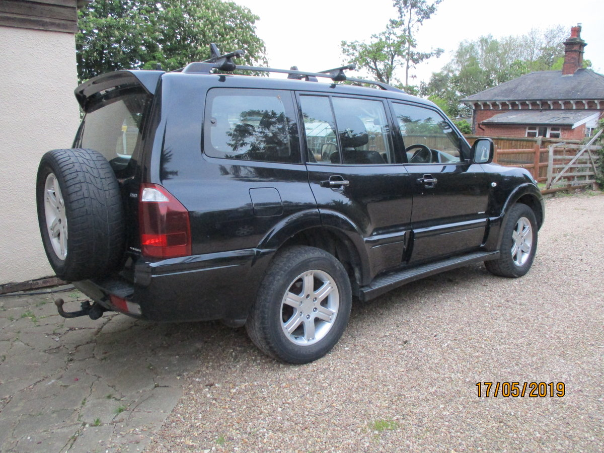 2004 4X4 DIESEL AUTO IN BLACK MACHING LEATHER TRIM LWB T/B 7 SEAT For Sale (picture 1 of 6)