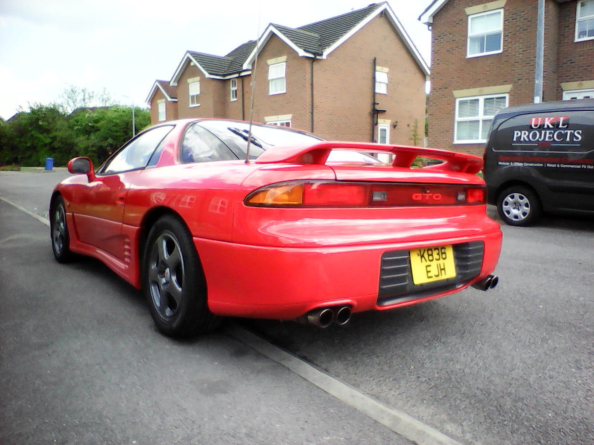 1992 Mitsubishi gto 4x4 3.0 sports coupe auto For Sale (picture 3 of 6)