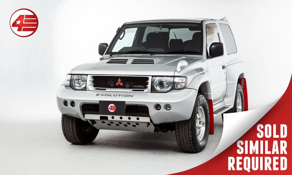 1997 Mitsubishi Pajero Evolution /// 52k Miles /// SOLD SOLD (picture 1 of 2)