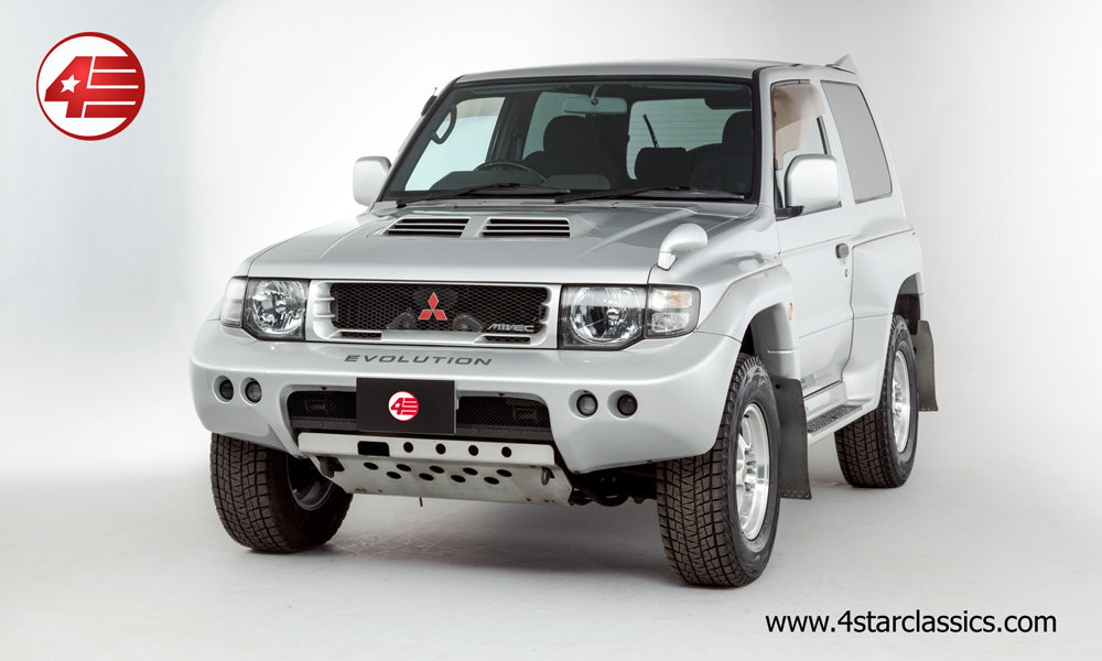 1997 Mitsubishi Pajero Evolution /// Just 34k Miles From New For Sale (picture 1 of 6)