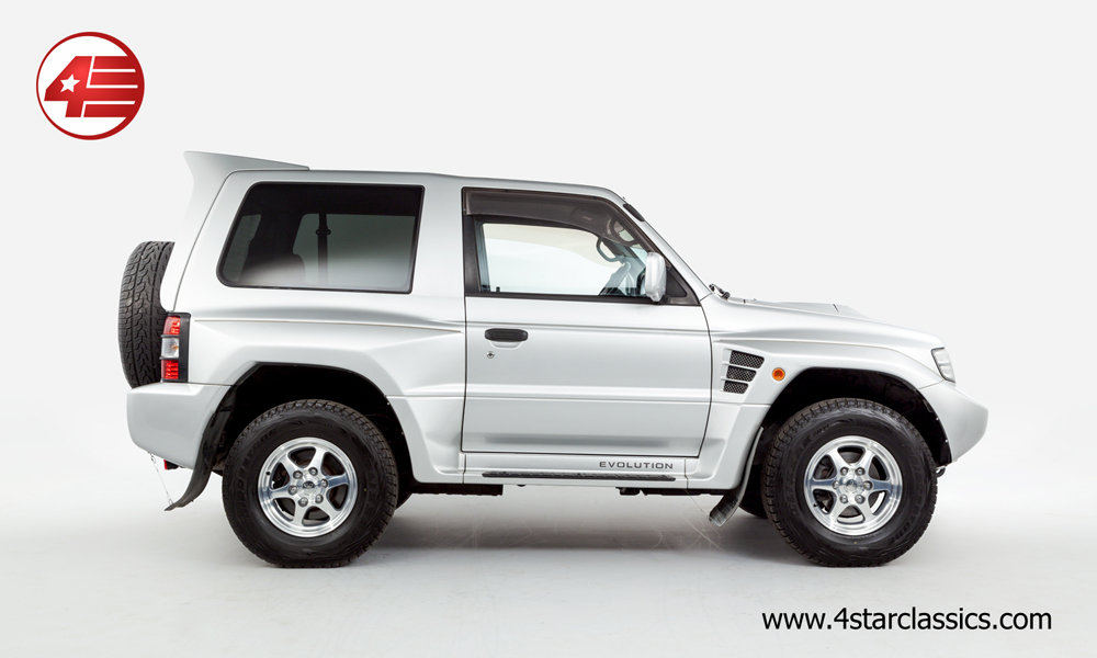 1997 Mitsubishi Pajero Evolution /// Just 34k Miles From New For Sale (picture 2 of 6)
