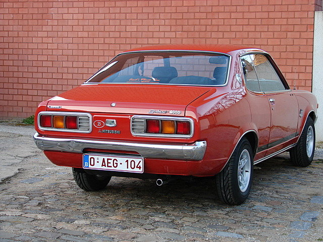 Mitsubishi Galant Hardtop coupe 1975 2000cc SOLD (picture 3 of 6)