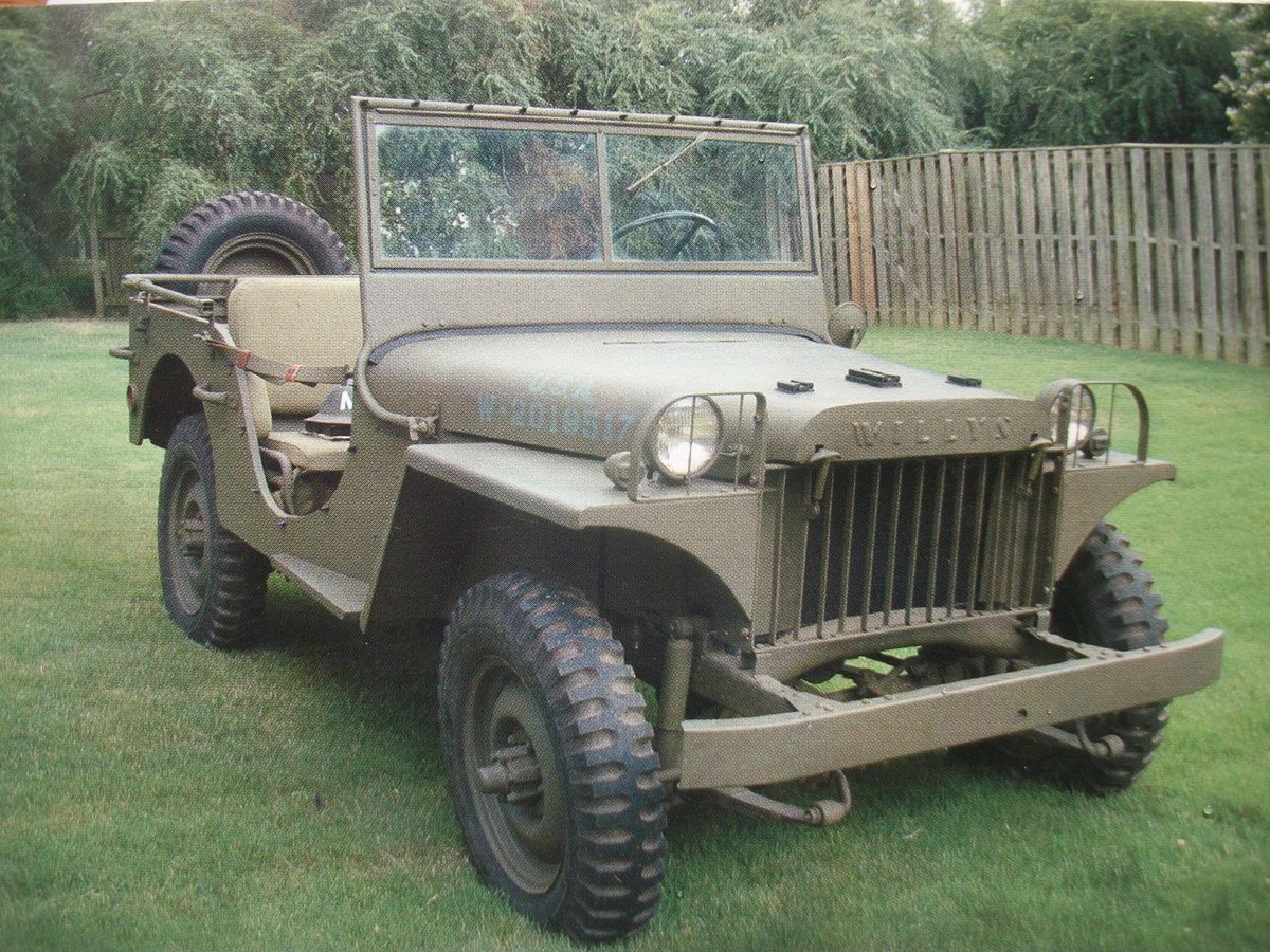 1975 jeep willys MA replica For Sale (picture 1 of 6)