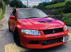 2003 Lancer Evo 7 FQ300 Ralliart For Sale