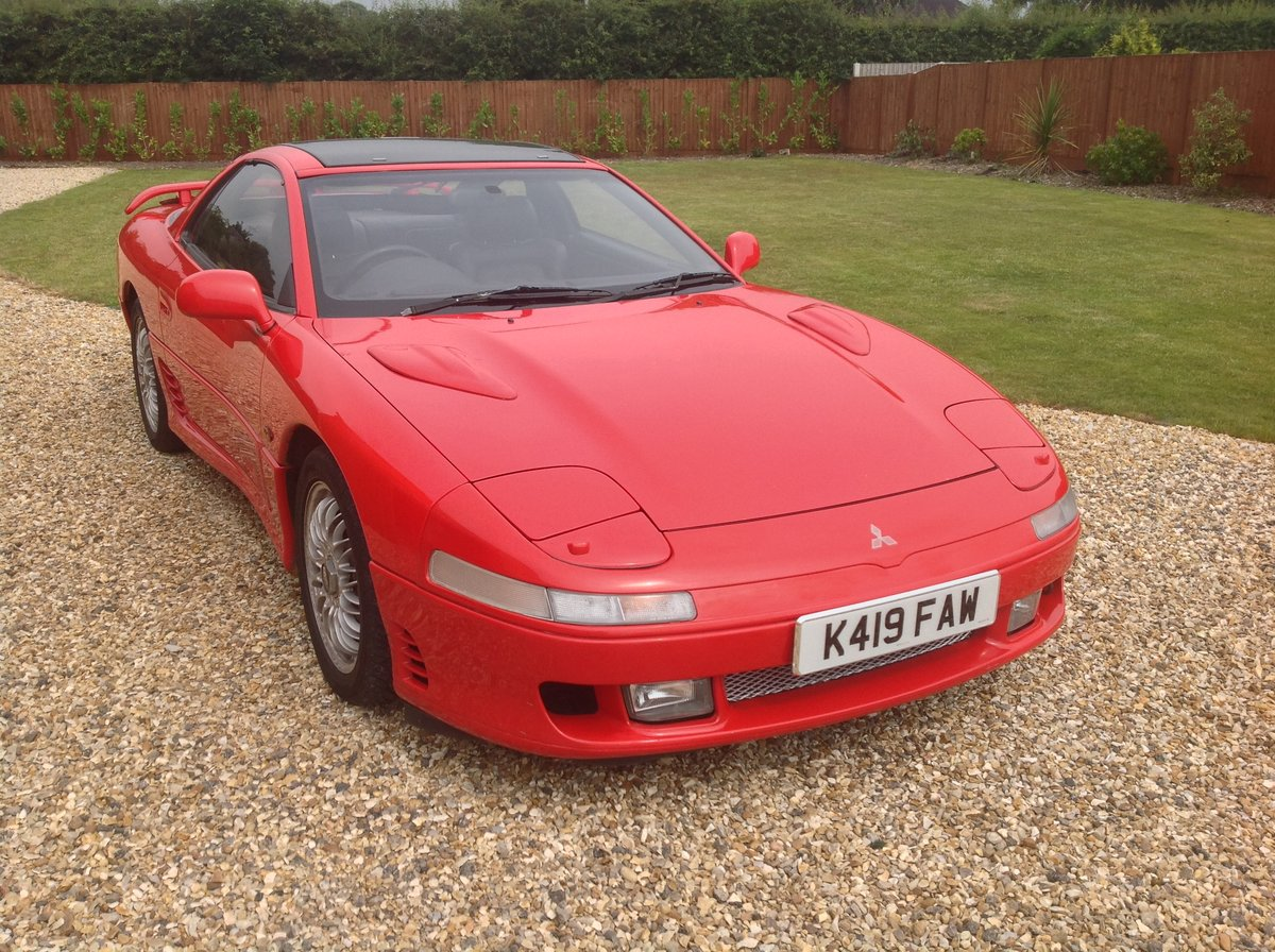 1993 MITSUBISHI 3000GT UK MODEL SOLD (picture 1 of 6)