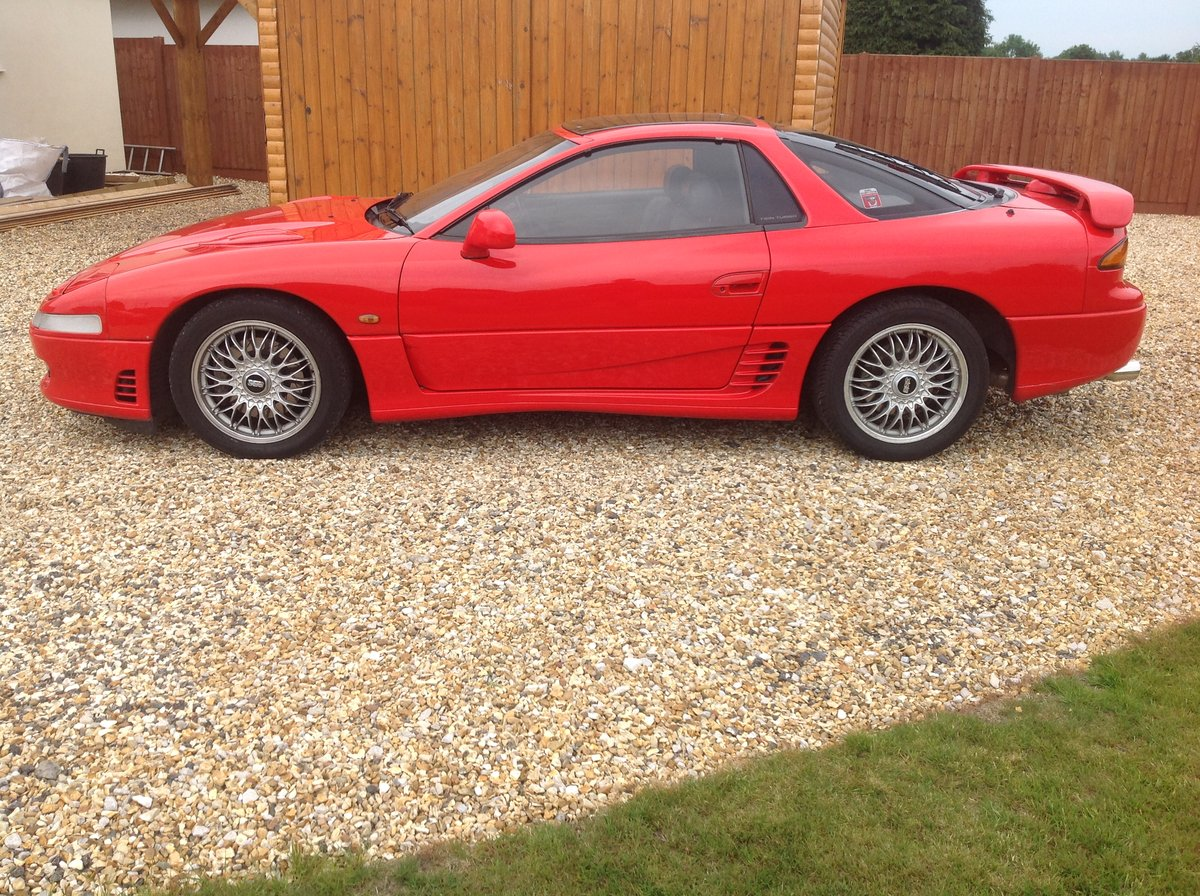 1993 MITSUBISHI 3000GT UK MODEL SOLD (picture 5 of 6)
