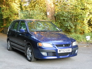 2003 Mitsubishi Space Star 1.6 Cheap Little Run About SOLD