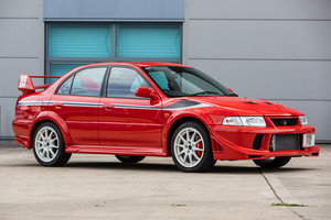2000 Mitsubishi Lancer Evo VI Tommi Makkinen Edition manual For Sale by Auction