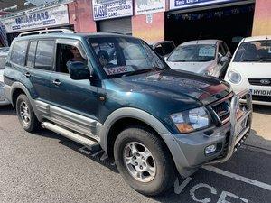 2001 Mitsubishi Shogun GLS V6 Lwb For Sale