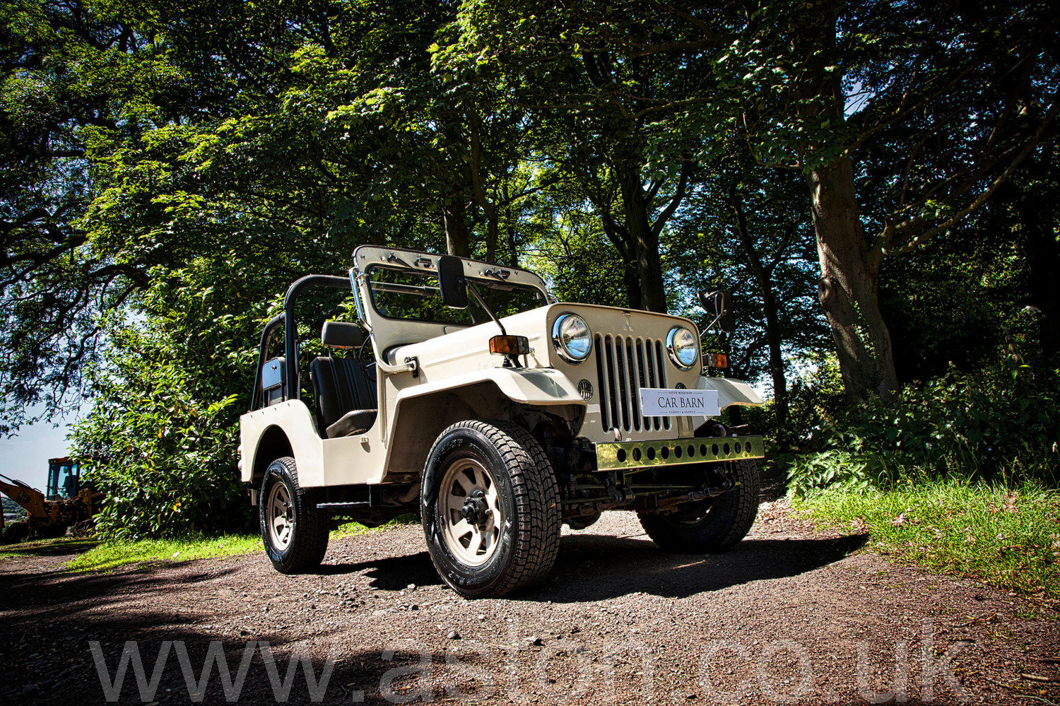 1998 Mitsubishi Jeep 2.7 TD (J55) For Sale (picture 1 of 6)