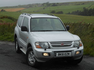 2001 Mitsubishi Shogun 3.5GDI V6 Auto SWB 3DR ONE Owner+90k SOLD