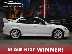 Win This Mitsubishi Evolution VI
