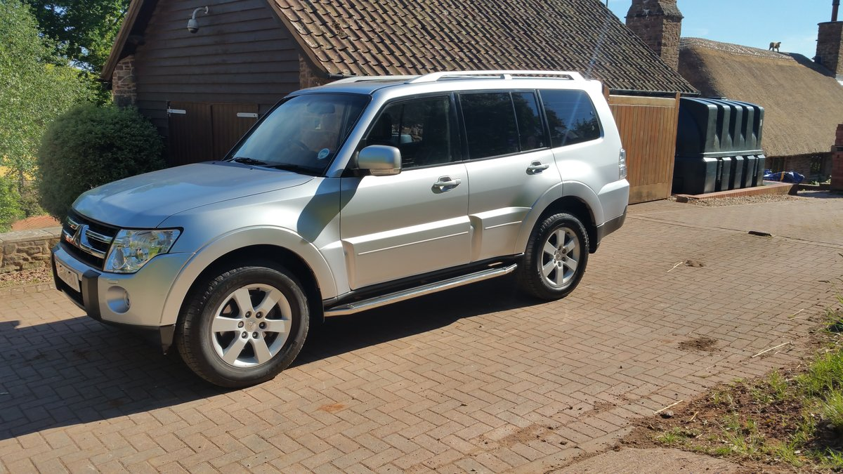 2008 Mitsubishi Shogun Elegance  For Sale (picture 2 of 6)