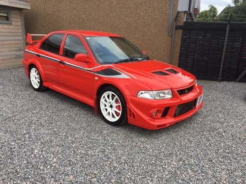 2000 Mitsubishi Evo Tommi Makinen Edition at Morris Leslie Auctio SOLD by Auction (picture 1 of 6)