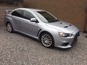 2010 Mitsubishi Evo X GSR FQ300 S/A at Morris Leslie Auction