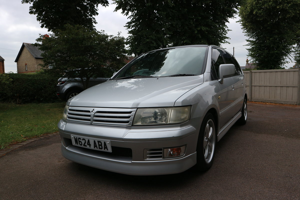 2000 Mitsubishi Space Wagon Chariot Grandis Low Miles For Sale (picture 1 of 6)