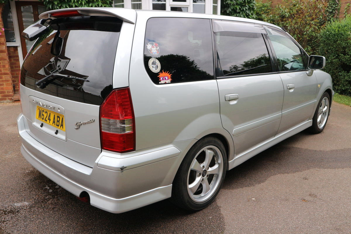 2000 Mitsubishi Space Wagon Chariot Grandis Low Miles For Sale (picture 2 of 6)